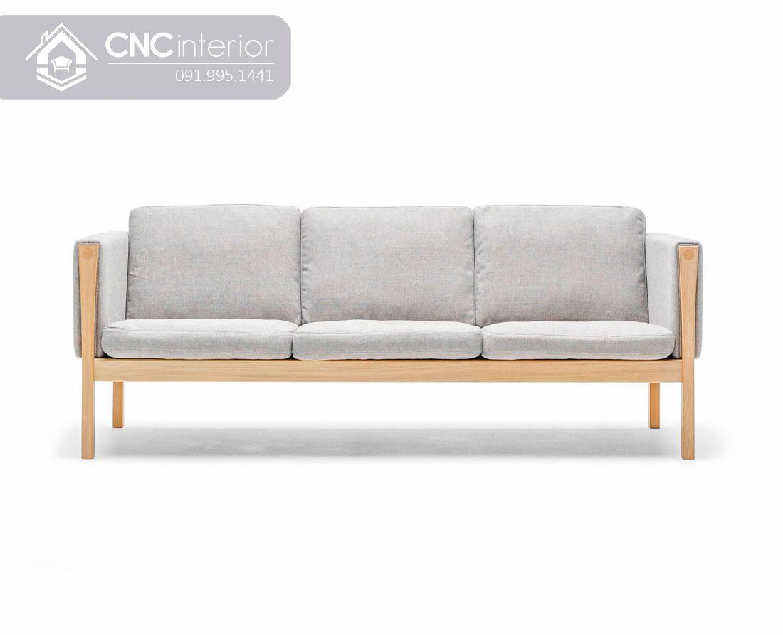 Ghế sofa bọc vải phong cách tối giản CNC 44 1