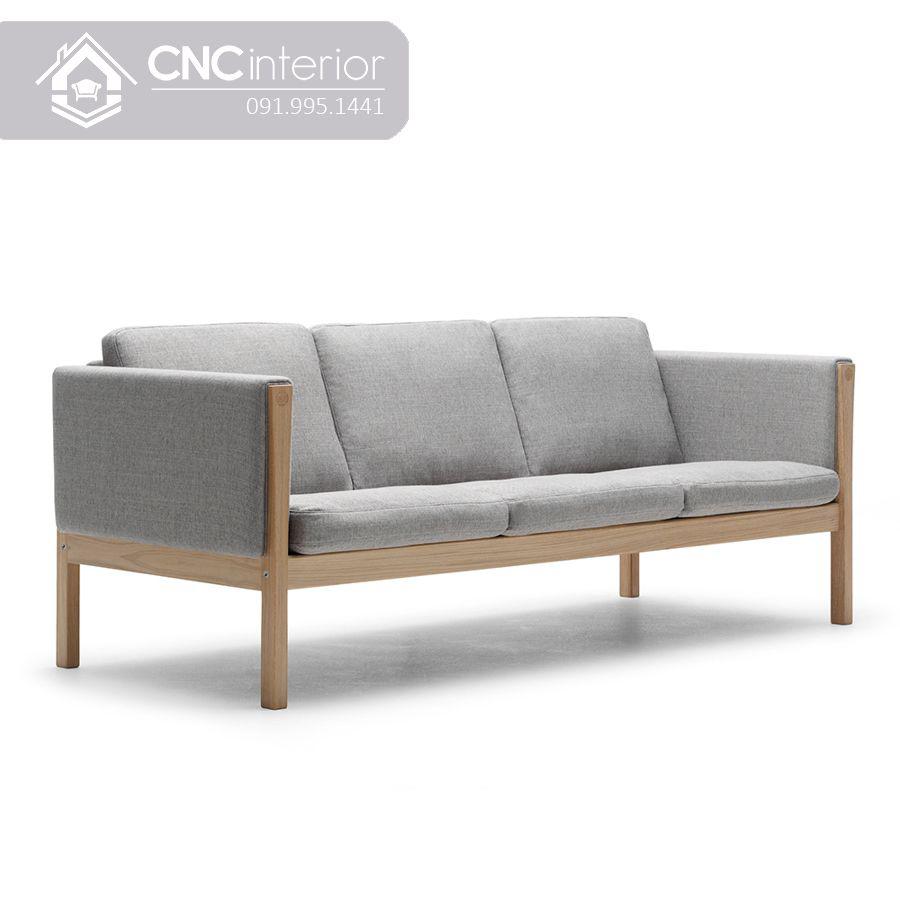 Ghế sofa bọc vải phong cách tối giản CNC 44
