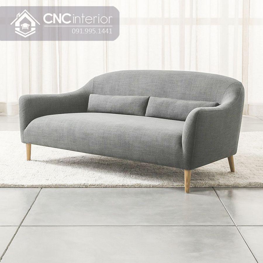 Sofa bọc nỉ đẹp cho căn hộ nhỏ CNC 04 2