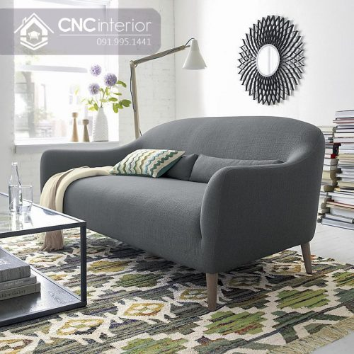 Ghế sofa nhỏ CNC 04