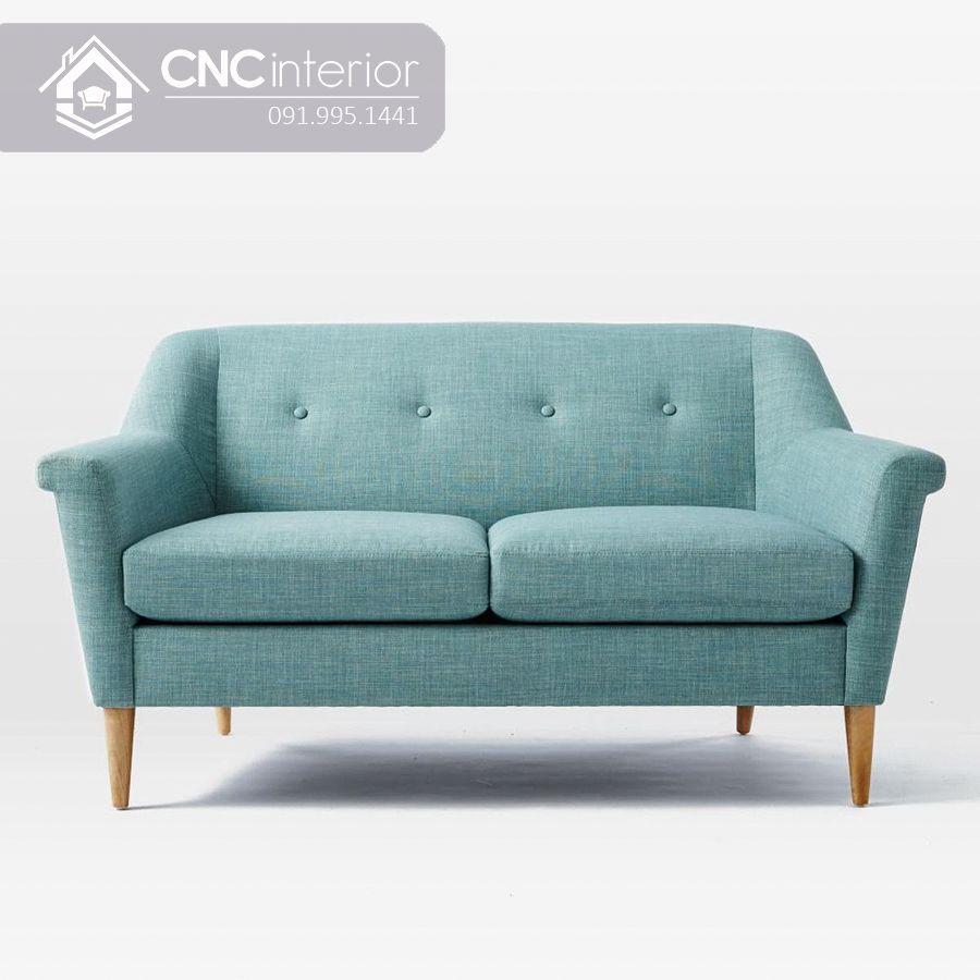 Sofa bọc nỉ hiện đại cho chung cư nhỏ CNC 06 1