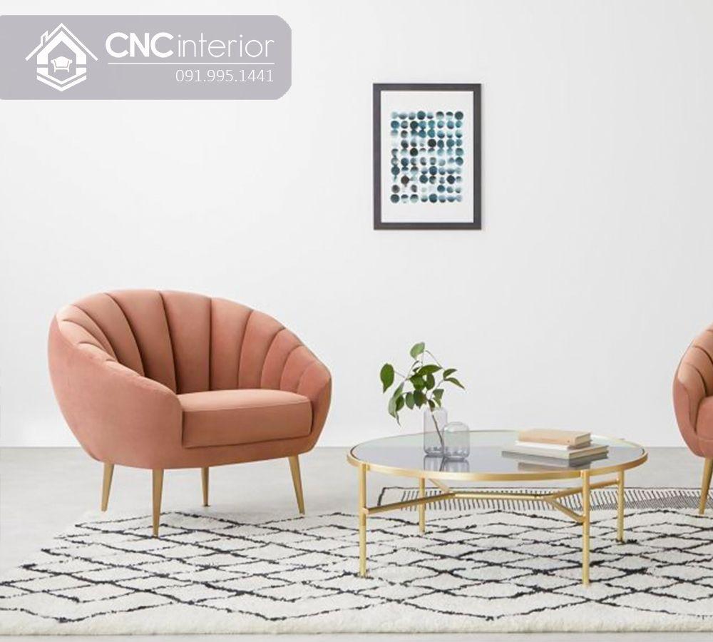 Sofa mini gọn gàng cho nhà nhỏ CNC 07