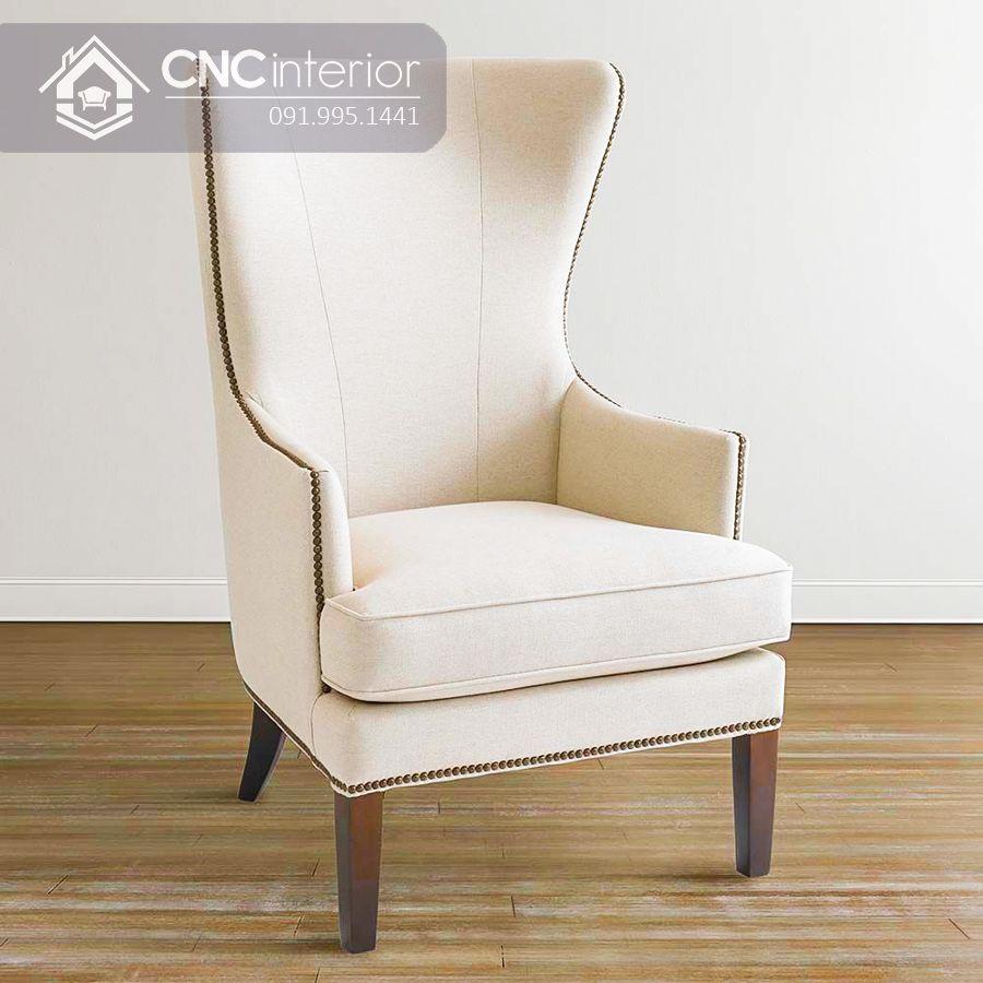 Ghế sofa mini tựa lưng cao đẹp sang trọng CNC 08 7
