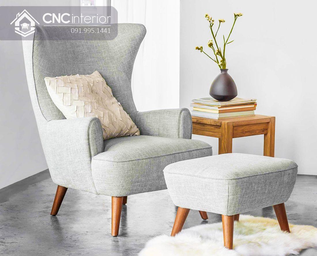 Ghế sofa mini tựa lưng cao đẹp sang trọng CNC 08 2