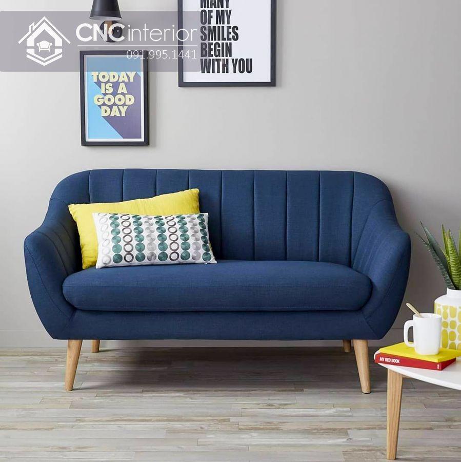 Sofa đẹp cho phòng khách nhỏ tphcm CNC 09