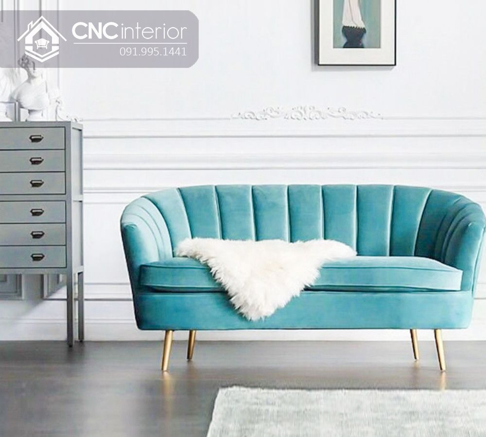 Sofa đẹp cho phòng khách nhỏ tphcm CNC 09 4