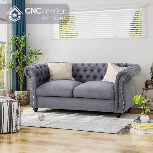 Ghế sofa nhỏ CNC 12