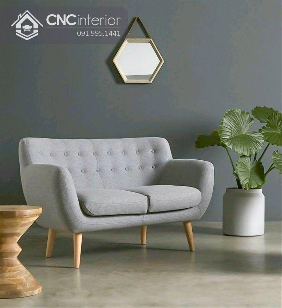 Ghế sofa nhỏ hiện đại cho quán cafe CNC 13 4