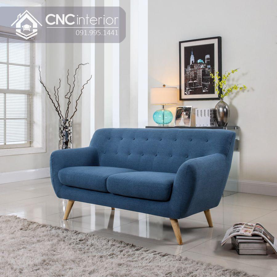 Ghế sofa nhỏ hiện đại cho quán cafe CNC 13 2