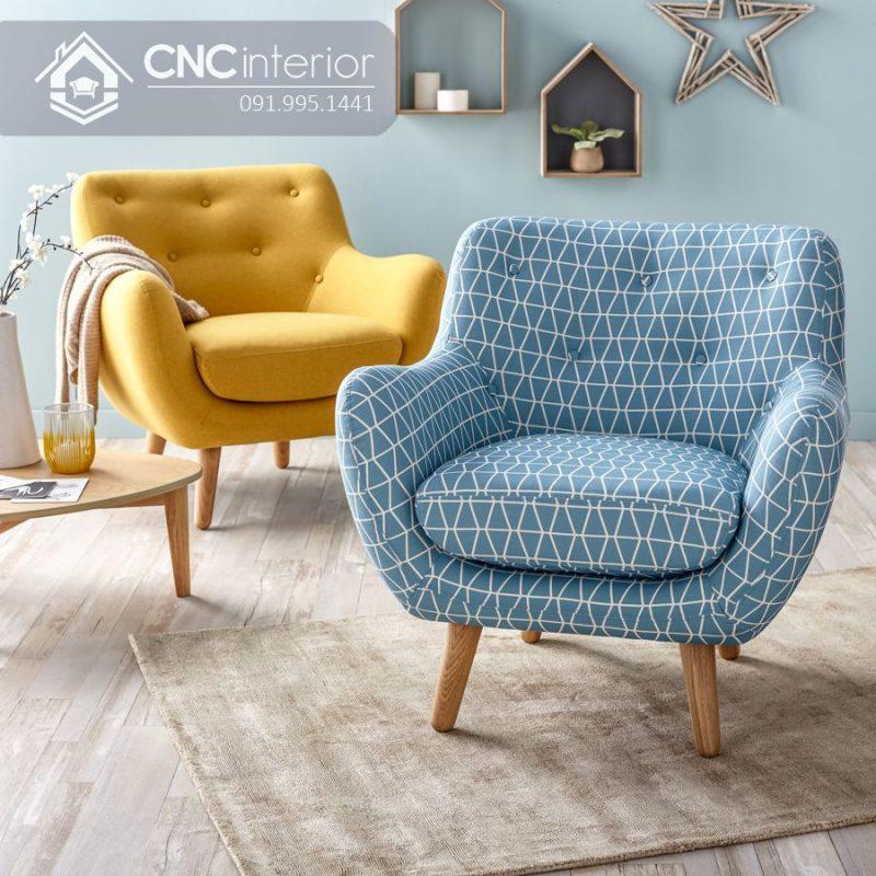 Ghế sofa nhỏ CNC 15