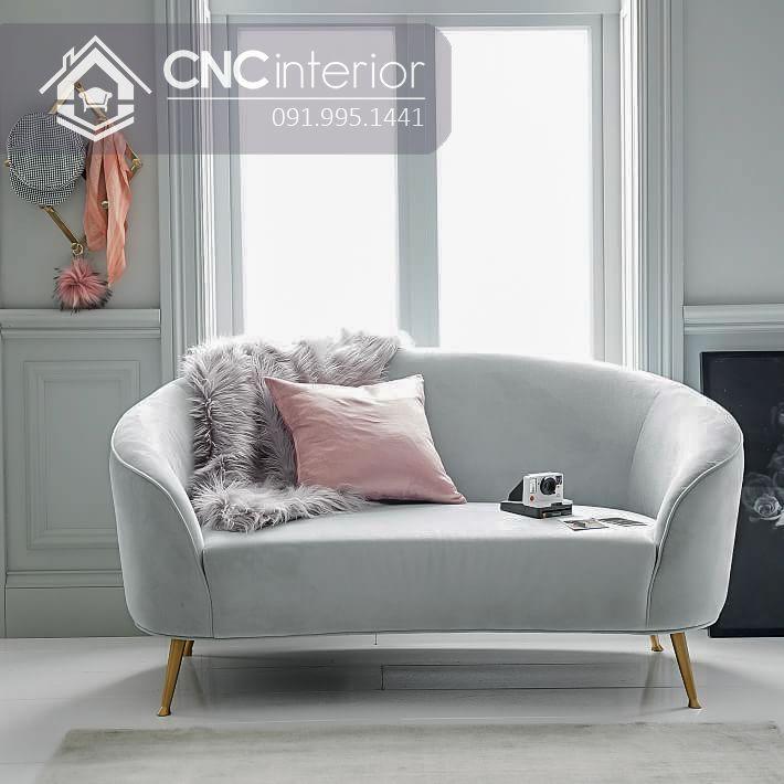 Ghế sofa nhỏ CNC 23
