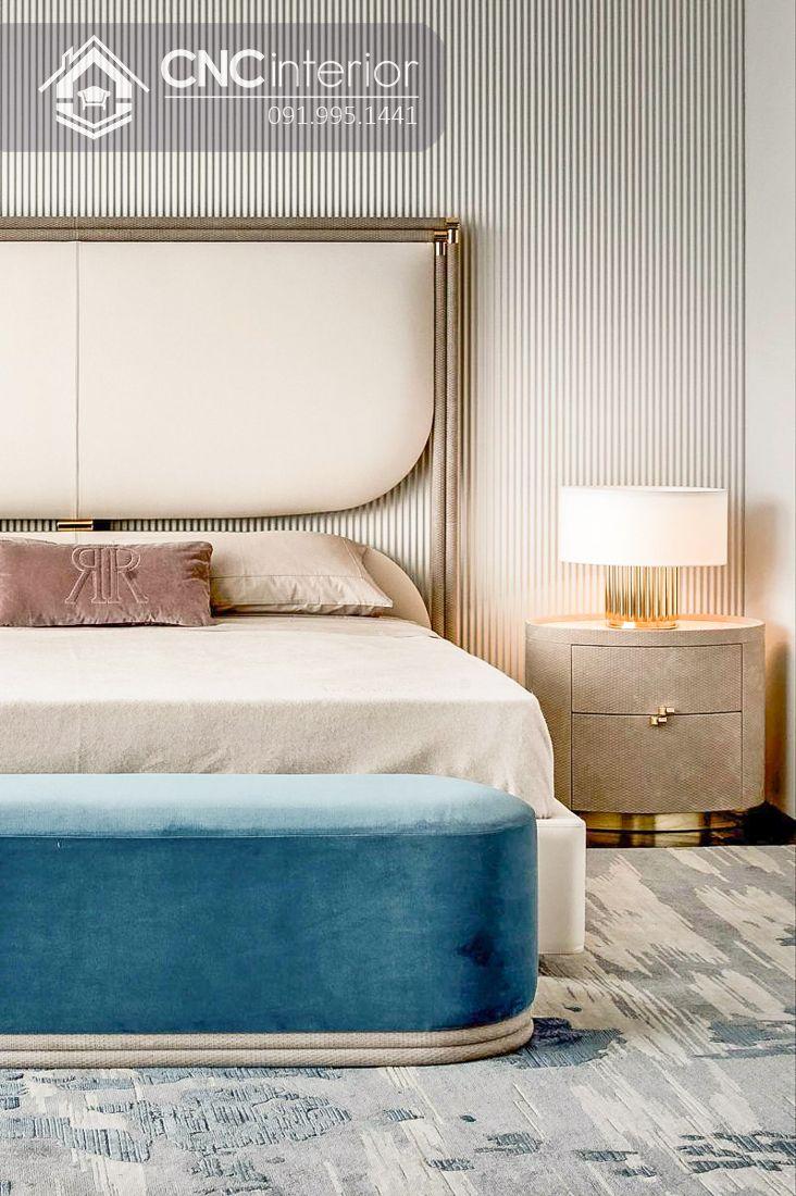 Giường ngủ đẹp CNC 02