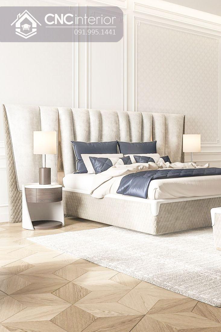 Giường ngủ đẹp CNC 03