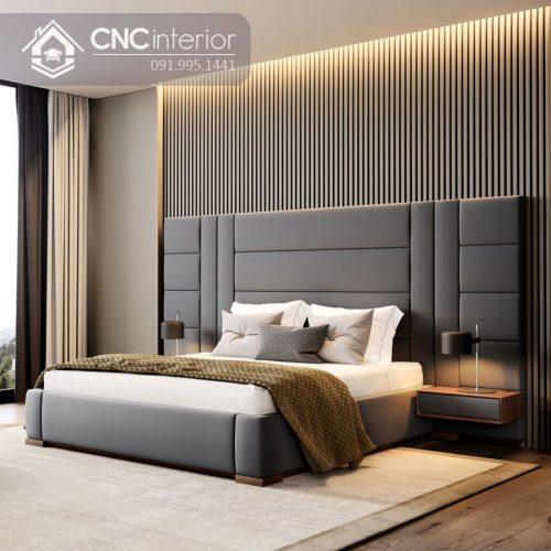 Giường ngủ đẹp CNC 05