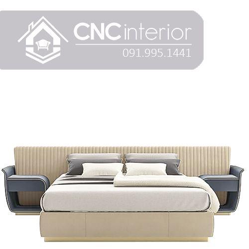 Giường ngủ đẹp CNC 09