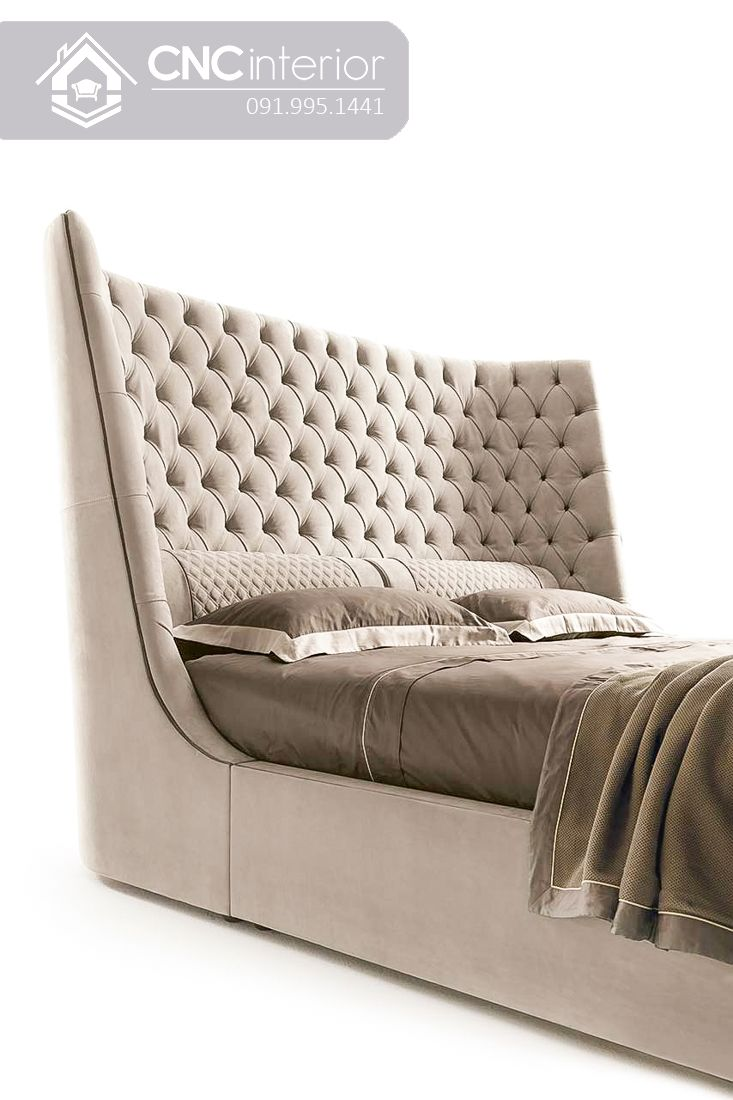 Giường ngủ đẹp CNC 17