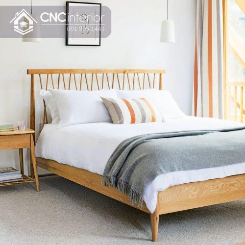 Giường ngủ đẹp CNC 18