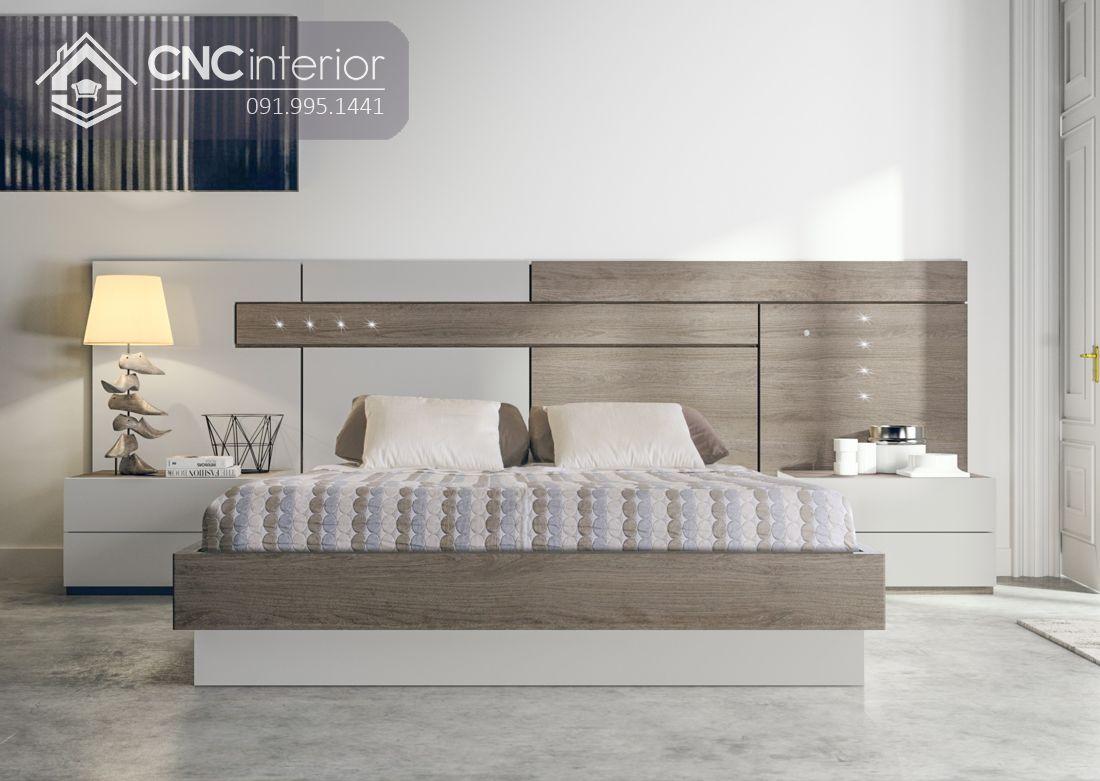 Giường ngủ đẹp CNC 20