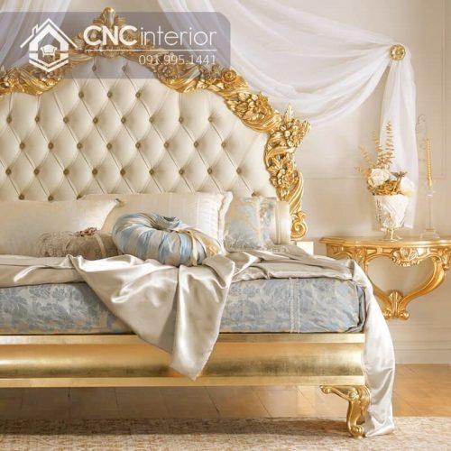 Giường ngủ đẹp CNC 25