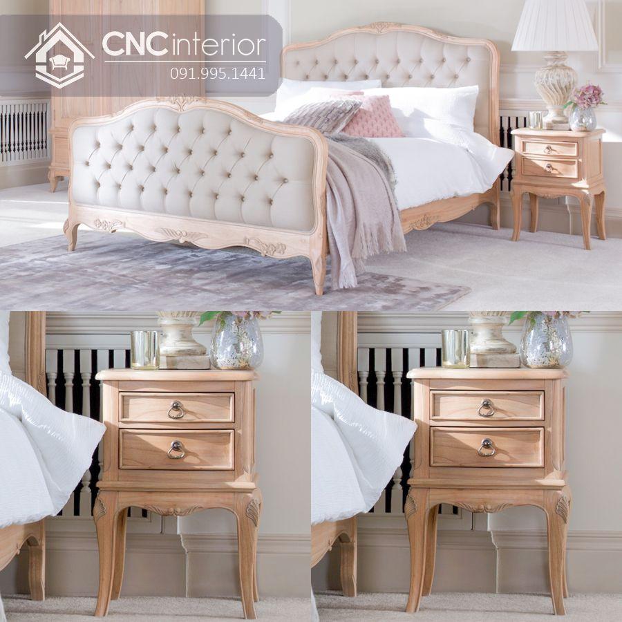 Giường ngủ đẹp CNC 26-2