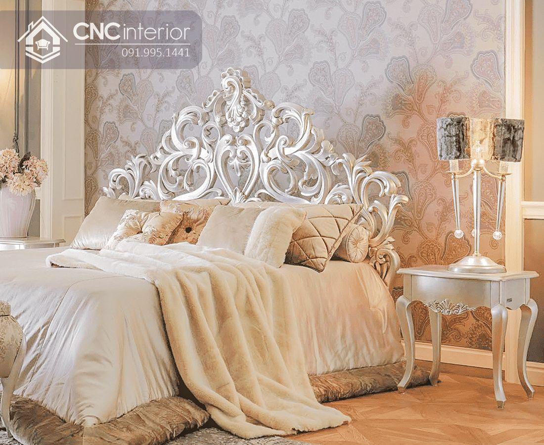Giường ngủ đẹp CNC 30-2