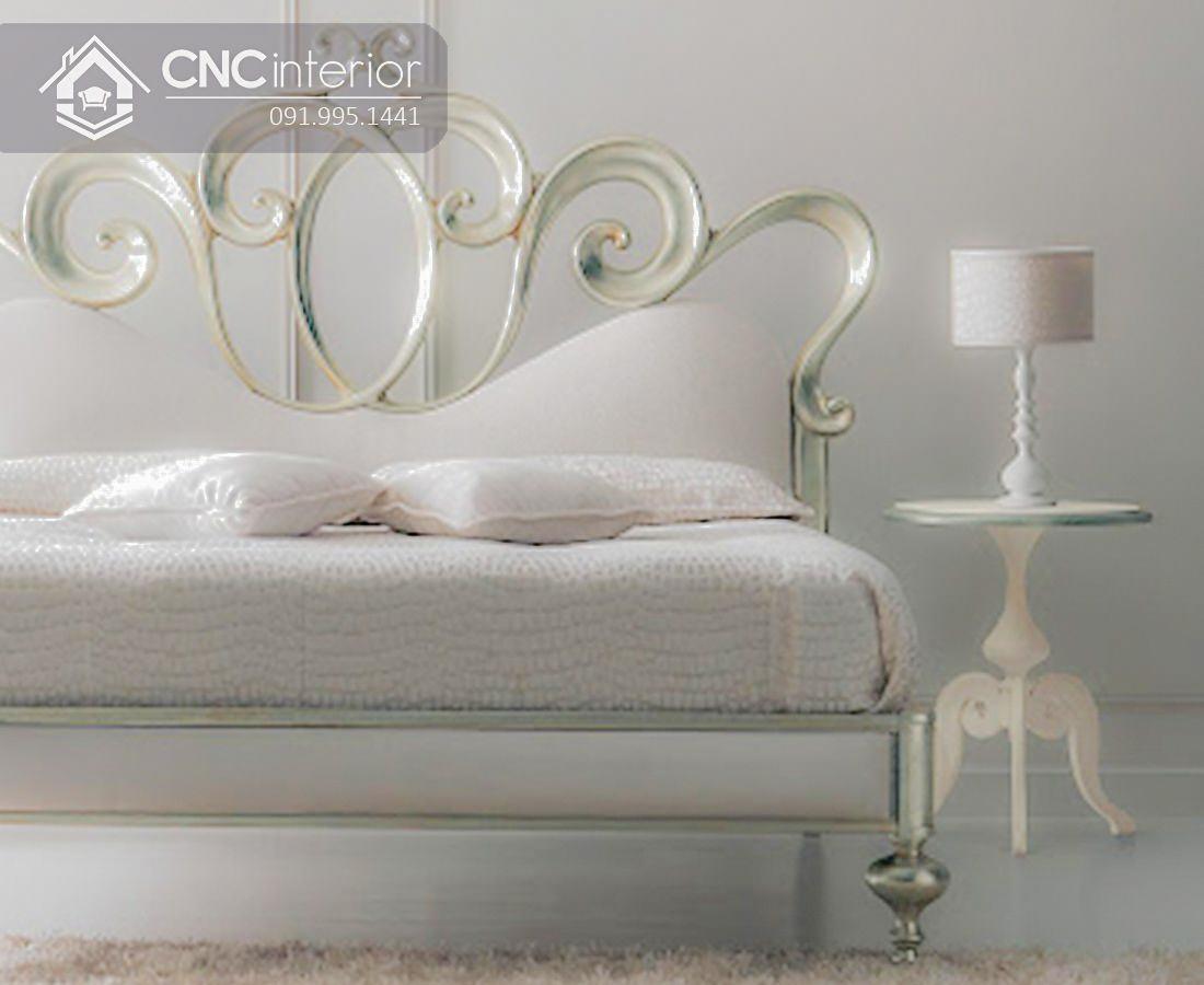 Giường ngủ tân cổ điển sang trọng bắt mắt CNC 31 1