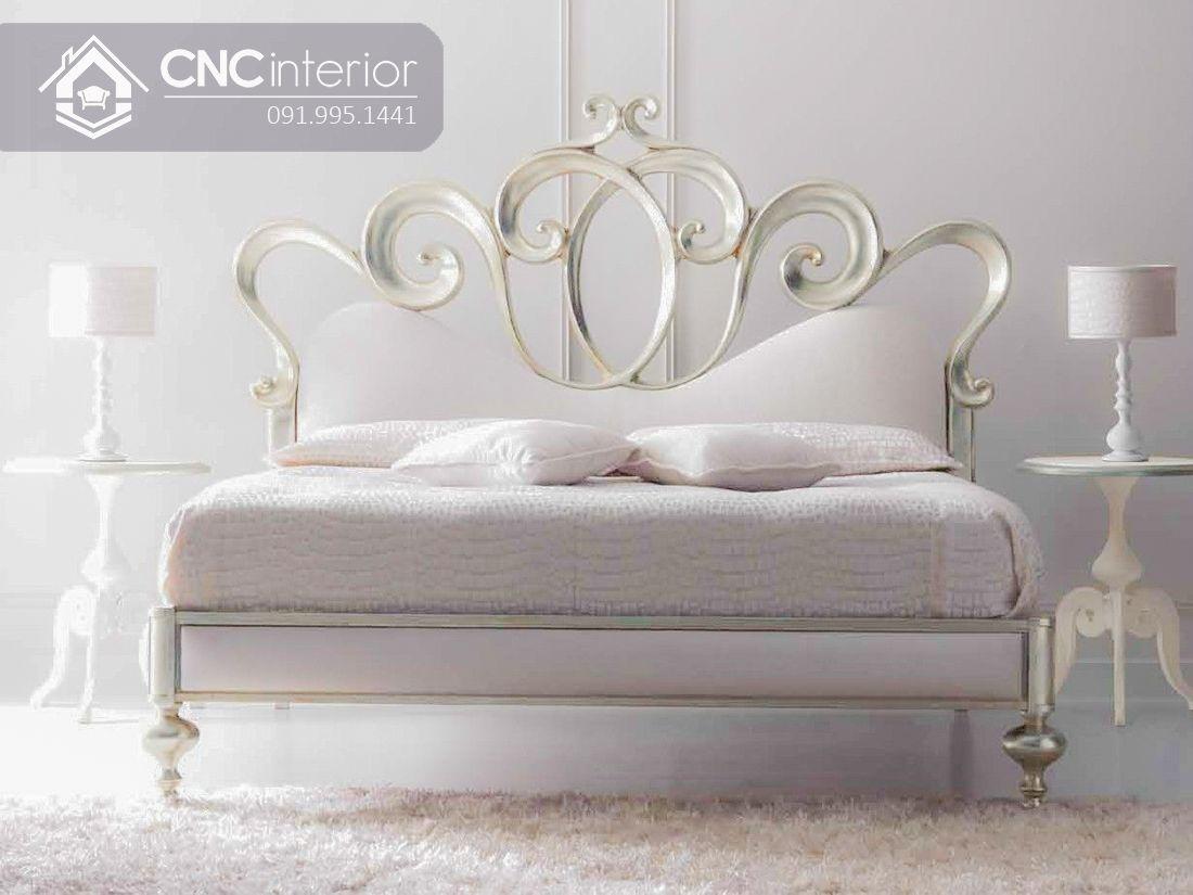 Giường ngủ tân cổ điển sang trọng trang nhã CNC 31