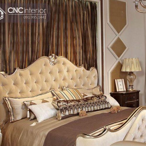 Giường ngủ đẹp CNC 33