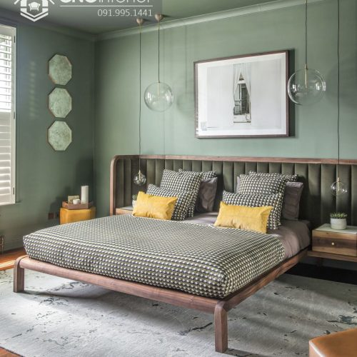 Giường ngủ đẹp CNC 34
