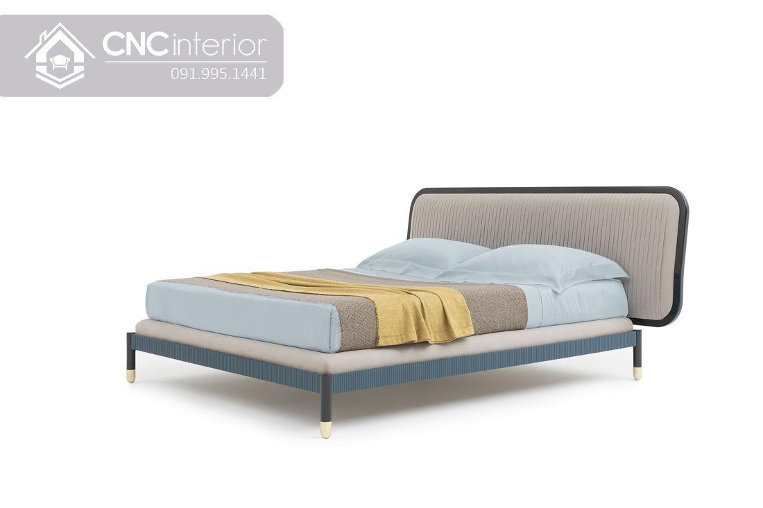 Giường ngủ gỗ công nghiệp đẹp hiện đại CNC 36 2