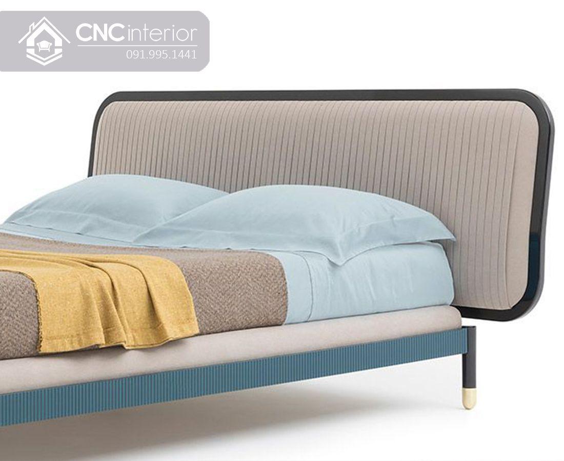 Giường ngủ gỗ công nghiệp đẹp hiện đại CNC 36 1