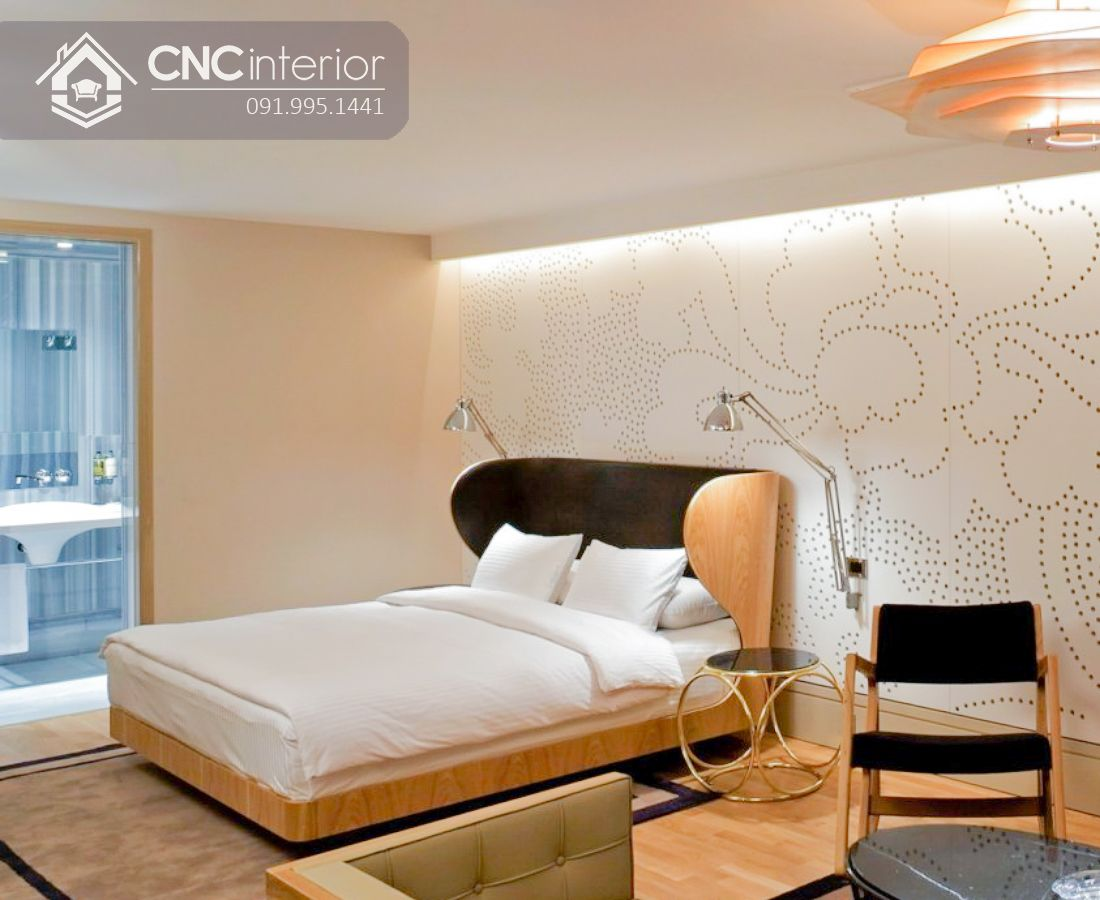 Giường ngủ gỗ công nghiệp độc đáo CNC 39