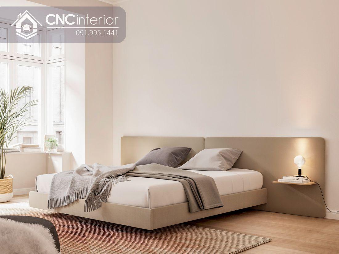 Giường ngủ đẹp đơn giản CNC 40 2