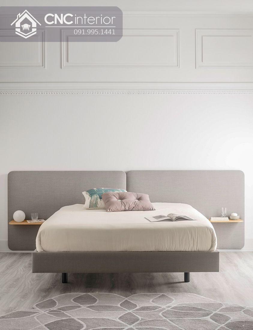 Giường ngủ đẹp đơn giản CNC 40