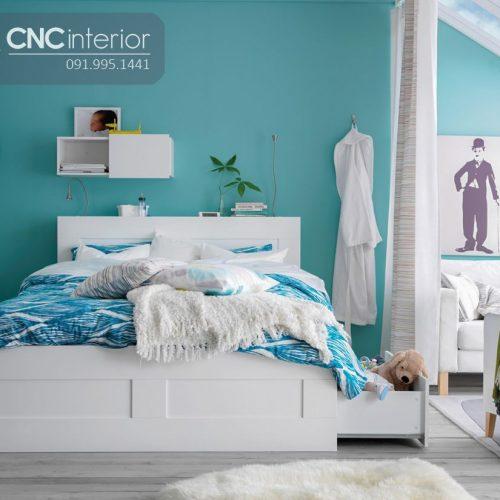 Giường ngủ đẹp CNC 48
