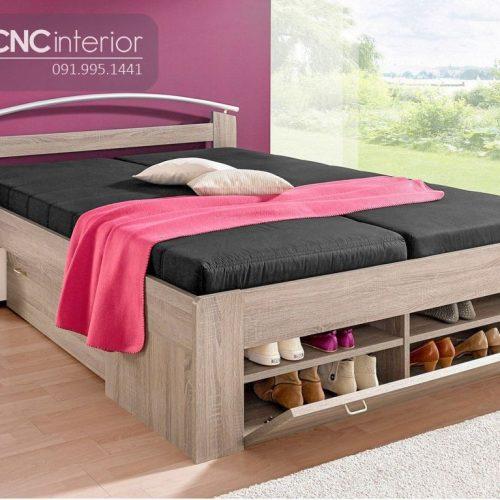 Giường ngủ đẹp CNC 50