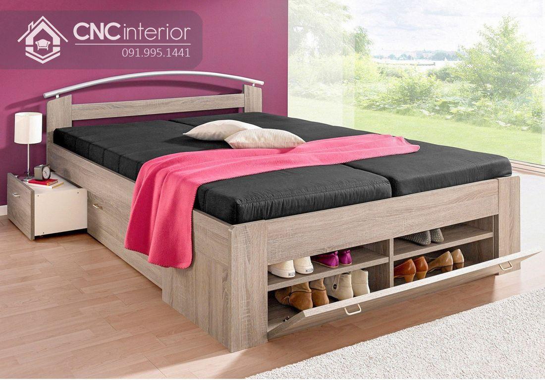 Giường ngủ gỗ công nghiệp có ngăn kéo (1)