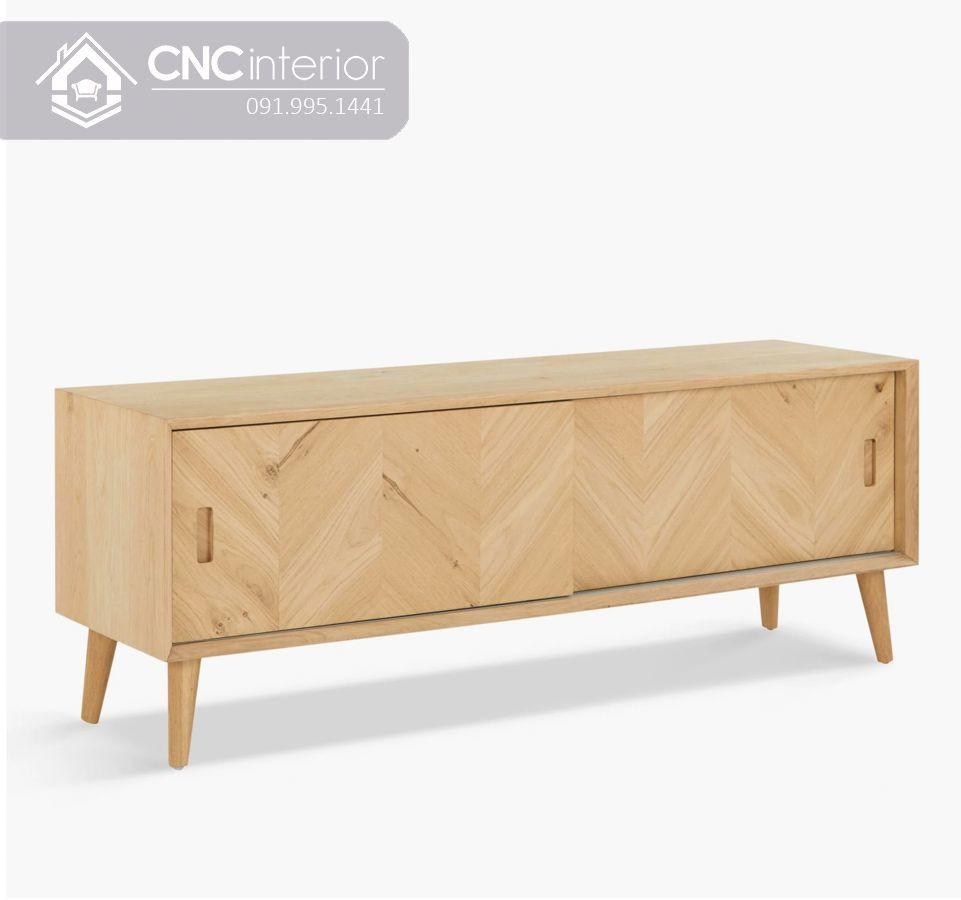 Kệ tivi gỗ công nghiệp bền chắc và đẹp CNC 10 1