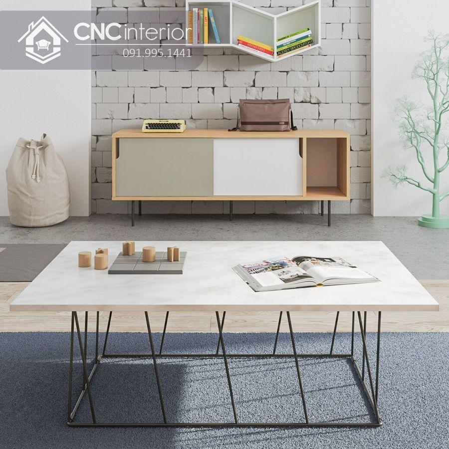 Kệ tivi bằng gỗ đơn giảnCNC 25