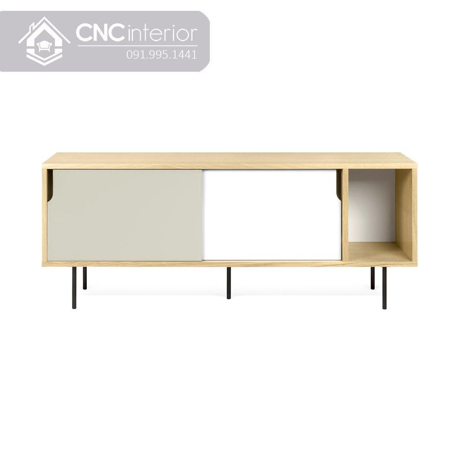 Kệ tivi bằng gỗ đơn giảnCNC 25 1