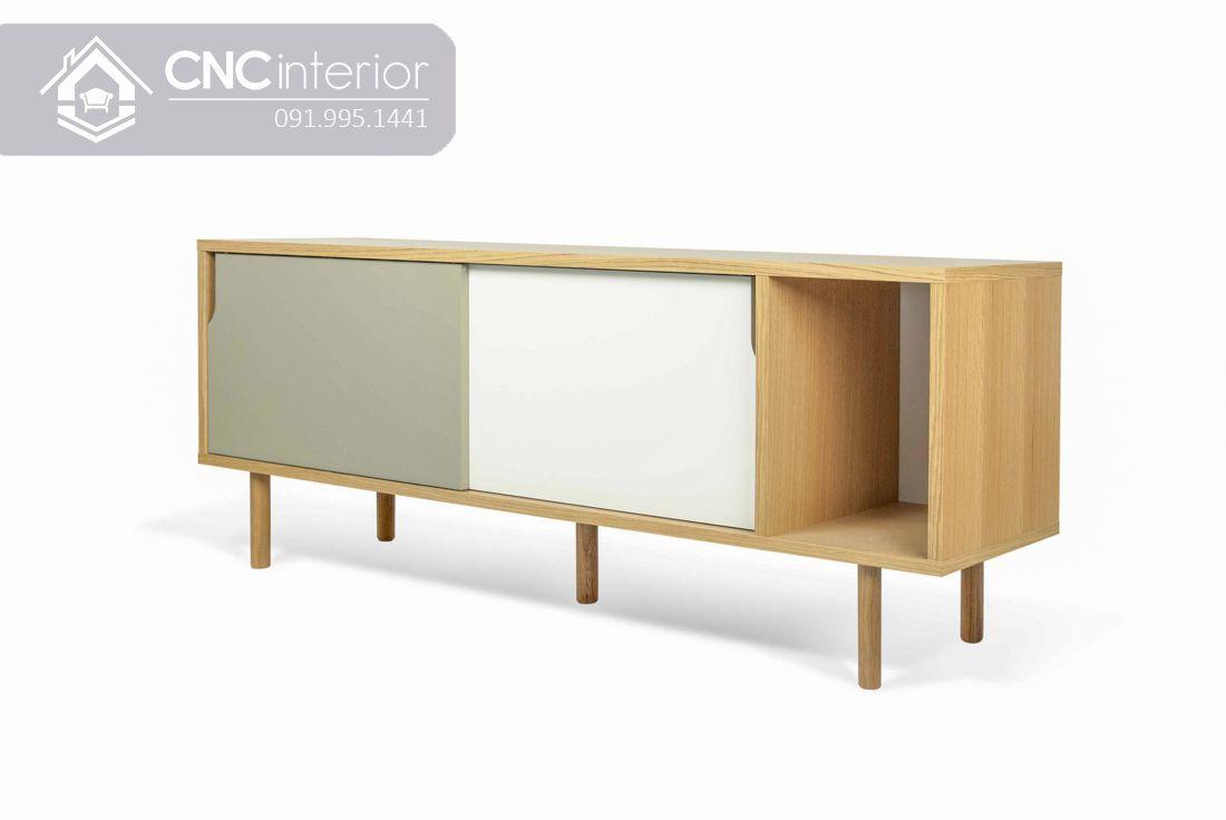 Kệ tivi bằng gỗ đơn giảnCNC 25 2
