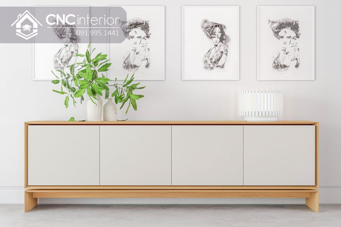 Kệ tivi phong cách tối giản độc đáo CNC 33