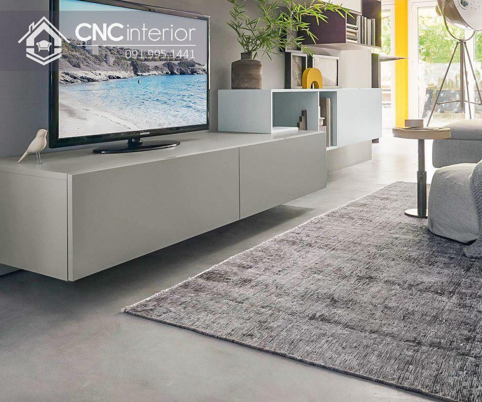 Kệ tivi treo tường phong cách hiện đại CNC 39 3