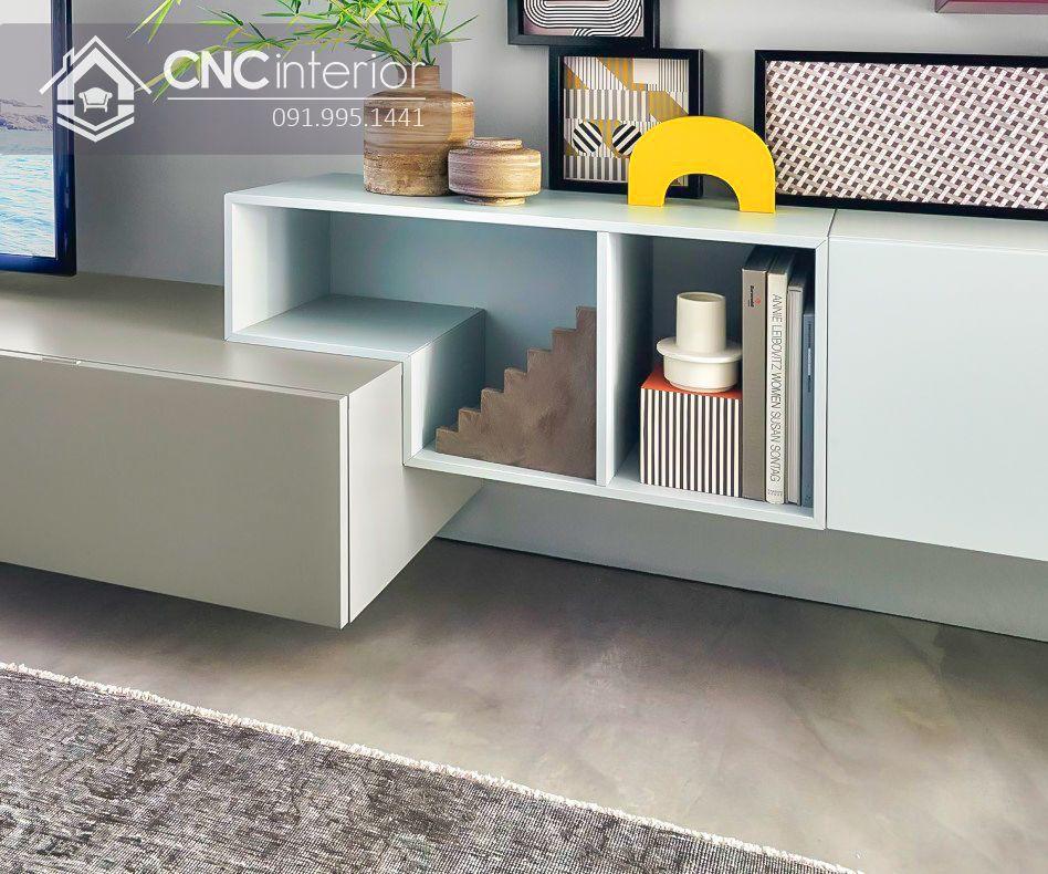 Kệ tivi treo tường phong cách hiện đại CNC 39 1