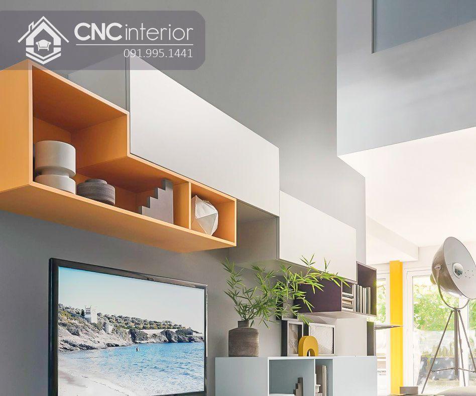 Kệ tivi treo tường phong cách hiện đại CNC 39 2