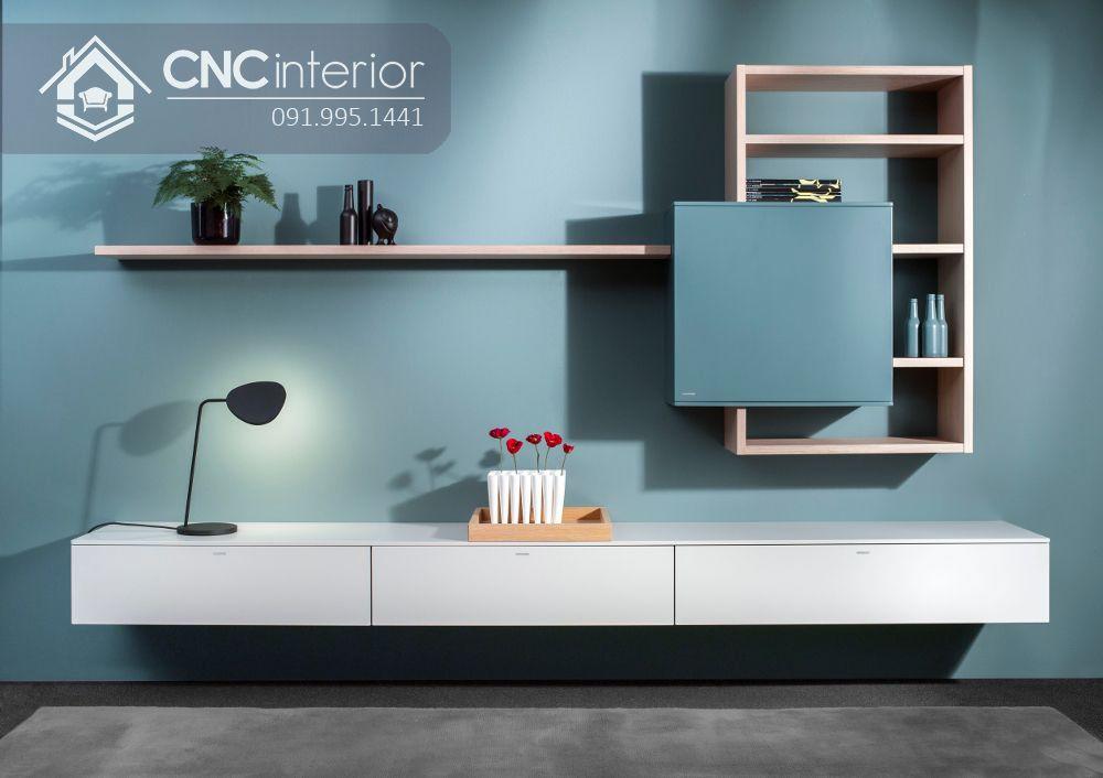 Kệ tivi phong cách hiện đại cho chung cư CNC 50