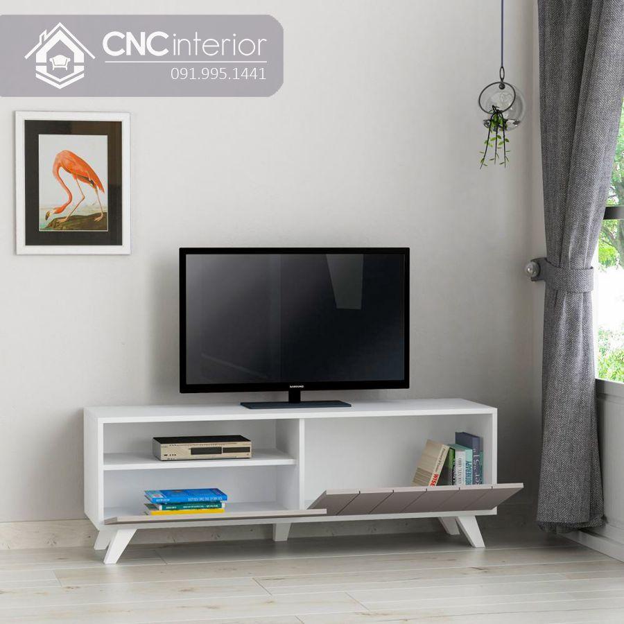 Kệ tivi 1m6 đơn giản bằng gỗ MDF CNC 53 1
