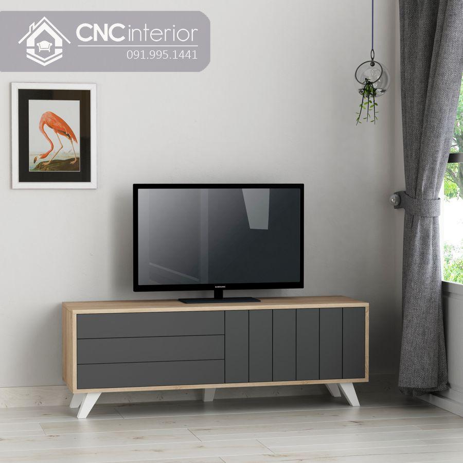 Kệ tivi 1m6 đơn giản bằng gỗ MDF CNC 53 2