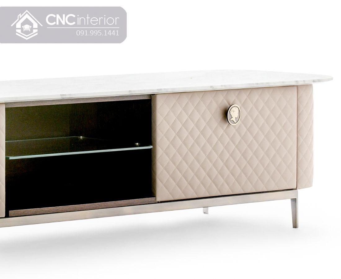 Kệ tivi sang trọng phong cách tân cổ điển CNC 55 1