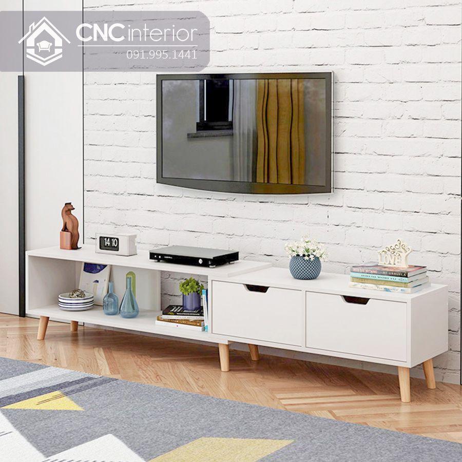 Kệ tivi gỗ hiện đại cho phòng khách CNC 59 1